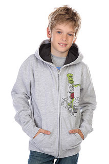 Толстовка детская Quiksilver Hood Zip Dead Loy Light Grey
