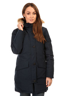 Пуховик женский Penfield Hoosac Rf Hooded Down Mountain Parka Navy