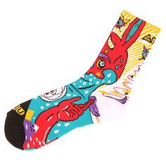 Носки средние GNU Moon Sock Red