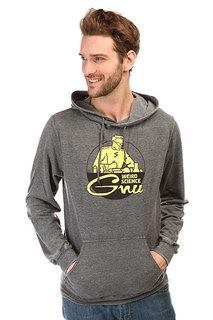 Толстовка кенгуру GNU Weird Scn Grey