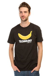 Футболка Lib Tech Banana Tech Tee Black