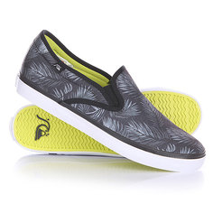 Слипоны Quiksilver Compass Shoe Black/Grey/White
