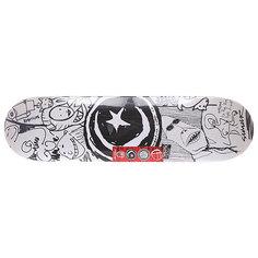 Дека для скейтборда для скейтборда Foundation S&m Sketchbook Black/White 31.5 x 8.125 (20.6 см)
