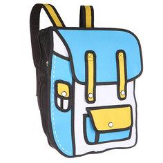 Рюкзак городской Jump from paper 2D Multi Packpack Blue/White/Black