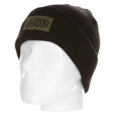 Шапка GNU Ash Pocket Beanie Black