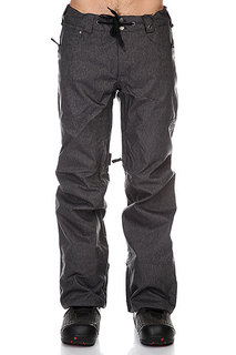 Штаны сноубордические Burton Twc Greenlight Pants True Black Denim