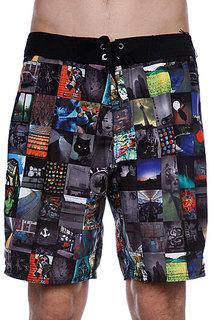 Пляжные мужские шорты Analog Photobooth Brdshort True Black