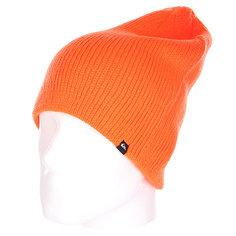 Шапка носок Quiksilver Routine Beanie Shocking Orange
