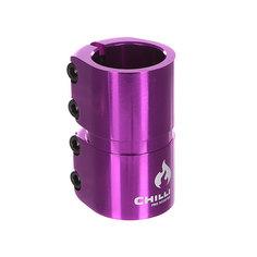 Зажимы Chilli 7000 Scs 4 Bolts Clamp Purple Shiny