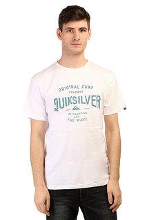 Футболка Quiksilver Clastegeeclaiit Tees White