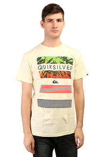 Футболка Quiksilver Classicteelinup Tees Transparent Yellow