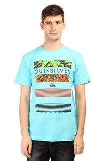 Футболка Quiksilver Classicteelinup Tees Bluefish