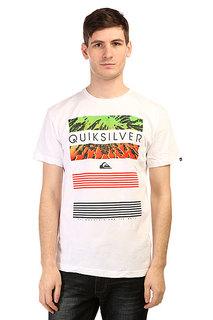 Футболка Quiksilver Classicteelinup Tees White