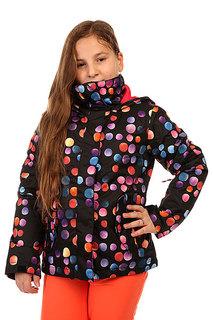 Куртка утепленная детская Roxy Jetty Girl Jk G Snjt Cosmic Dots