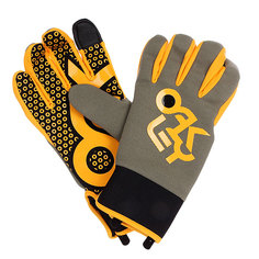 Перчатки сноубордические Oakley Factory Park Glove Worn Olive
