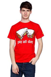 Футболка Enjoi Pbj All Day Red