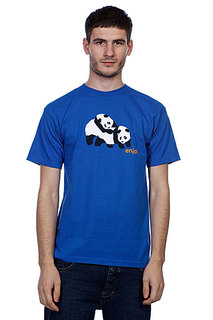 Футболка Enjoi Piggyback Pandas Royal Blue