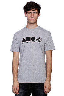 Футболка Enjoi Shapes Premium Heather Grey