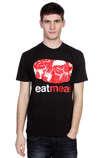 Футболка Enjoi Eat Meat Premium Black