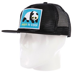 Бейсболка Enjoi Strainer Mesh Black