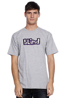 Футболка Blind Og Logo Athletic Heather/Purple