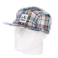 Бейсболка пятипанелька Enjoi Plamper Hat Multi