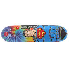 Дека для скейтборда для скейтборда Almost S5 Mullen Superman Tiedye R7 Blue 31.7 x 8.0 (20.3 см)
