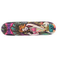 Дека для скейтборда для скейтборда Blind S5 Filipe Ultra Violet R7 Multicolor 31.7 x 8.0 (20.3 см)