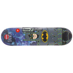 Дека для скейтборда для скейтборда Almost Batman R7 Tie Dye 28 x 7 (17.8 см)