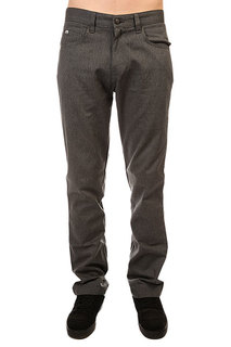 Штаны прямые Enjoi Panda Pant Char Heather