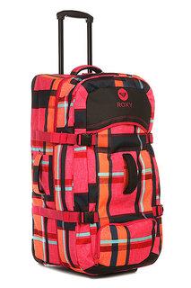Сумка дорожная женская Roxy Long Haul Bag Lugg Mauna Plaid