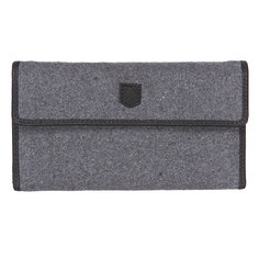 Кошелек Burton Wb Tri Fold Wallet Grey Wool