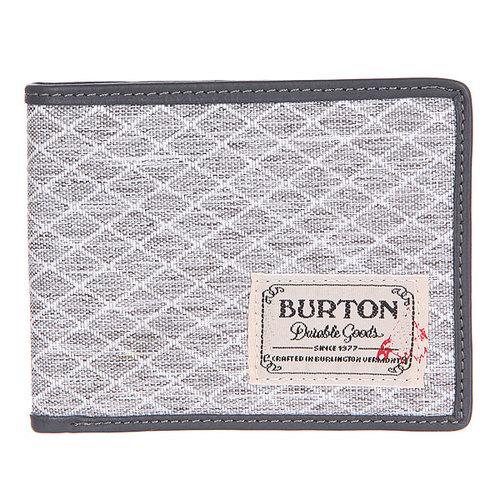 Кошелек Burton Mb Lnghaul Wallet Gry Hthr Dimnd Rpstp