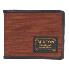 Кошелек Burton Mb Lnghaul Wallet Wood Grain