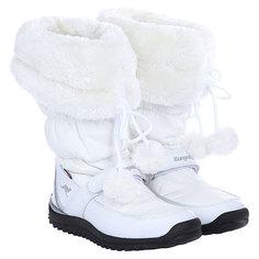 Сапоги зимние женские Kangaroos Puffy White/White