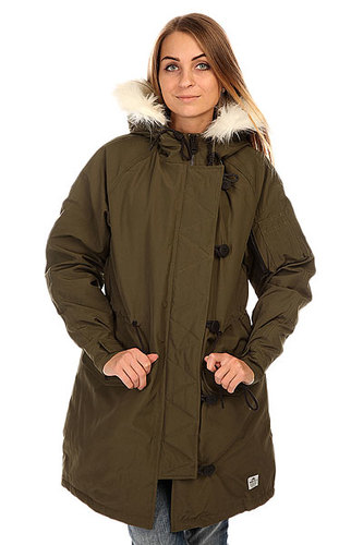 Куртка парка женская Penfield Paxton Long Insulated Snorkle Jacket Lichen