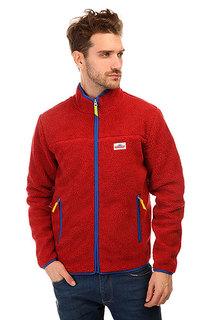 Толстовка утепленная Penfield Brunswick Classic Pile Fleece Jacket Red
