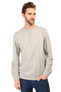 Лонгслив Burton Curtis Henley Heather Pewter