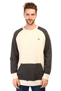 Толстовка свитшот Burton Mb Ryland Crew Vanilla Heather