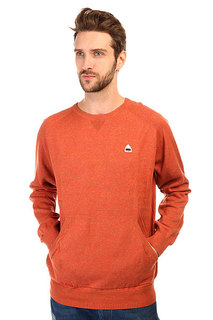 Толстовка свитшот Burton Mb Phoenix Swtr Red Clay Heather