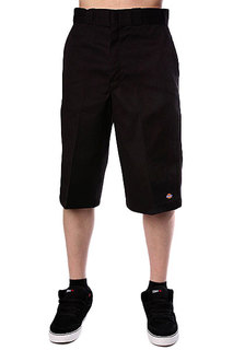 Классические мужские шорты Dickies 15 Work Short W/Cell Phone Pocket Black