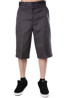 Классические мужские шорты Dickies 15 Work Short W/Cell Phone Pocket Charcoal