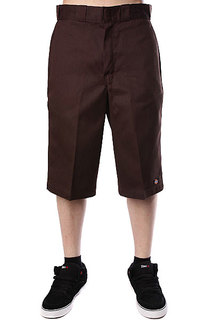 Классические мужские шорты Dickies 15 Work Short W/Cell Phone Pocket Dk.Brown