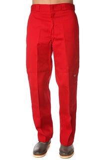 Штаны прямые Dickies Double Knee Work Pant English Red