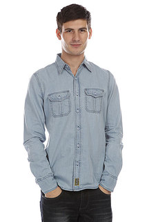 Рубашка Dickies Blue Collar Shirt Blue