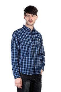 Рубашка в клетку Dickies West Hollywood Blue