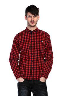 Рубашка в клетку Dickies West Hollywood Red