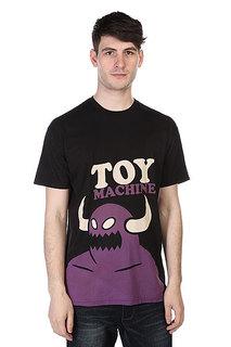 Футболка Toy Machine Monster Pop Black/Purple