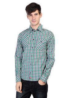 Рубашка в клетку Dickies Warrenton Ls Emerald