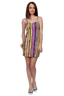 Платье женское Stussy Horizon Stripe Cocktail Dress Multi